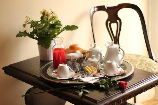 City Rooms: el desayuno en la habitacion