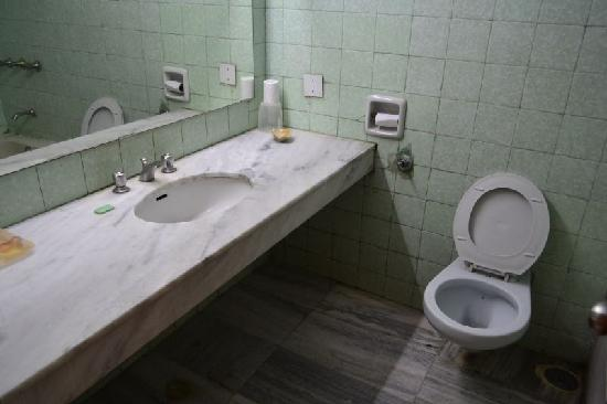 Woodlands Hotel: toilet