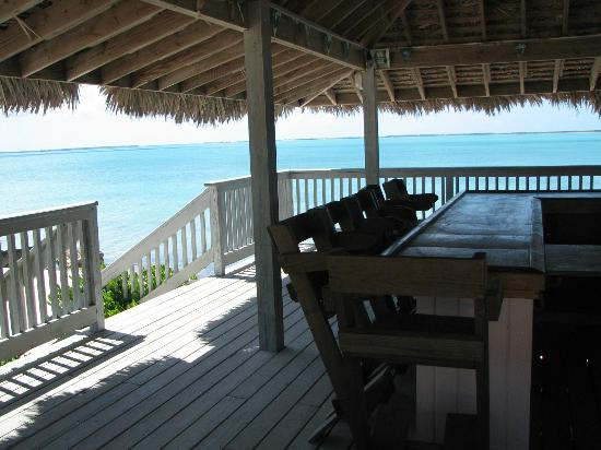Pascal's at Cape Eleuthera: bar on the beach