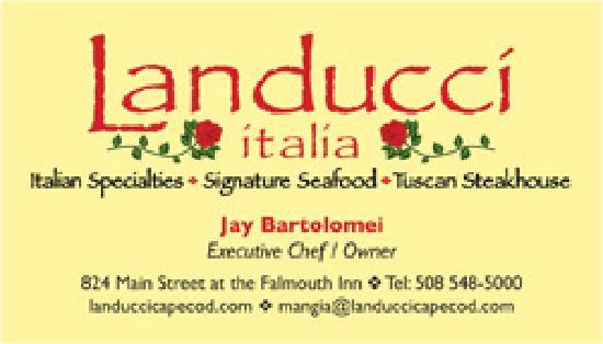 Landucci italia : Chef j