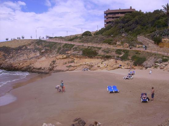 MedPlaya Hotel Calypso : Una playa de Salou