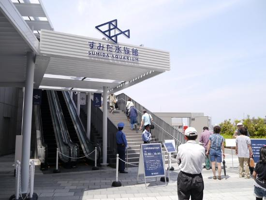 Sumida, Japan: 入口