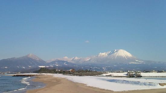Kaike Onsen: ミニ富士山の大山