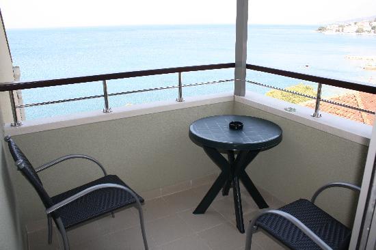 Hotel Saudade: balcony view