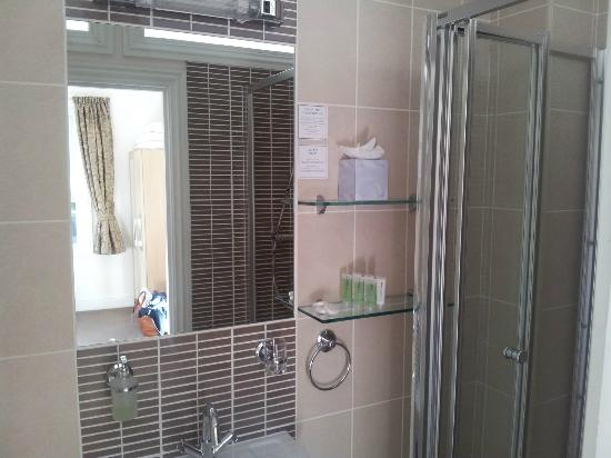 Stracey Hotel: Rm 7 Shower
