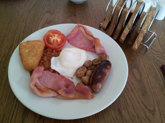 Stracey Hotel: Cooked Breakfast