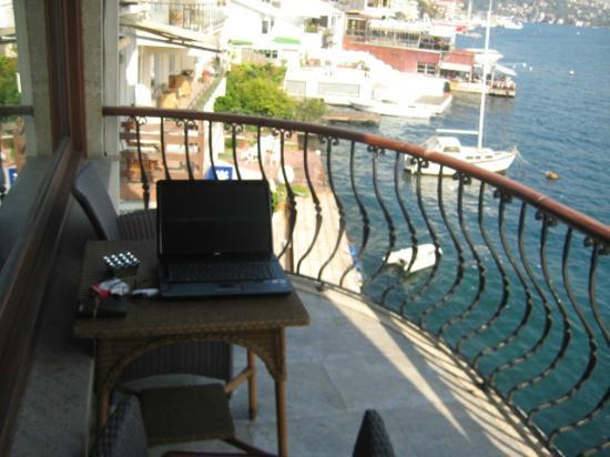 Bebek Hotel : Vista dalla camera