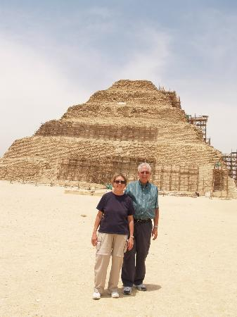 Ramasside Tours - Day Tours: By the Pyramid of Sakkara