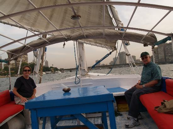 Ramasside Tours - Day Tours: Our Felucca Ride