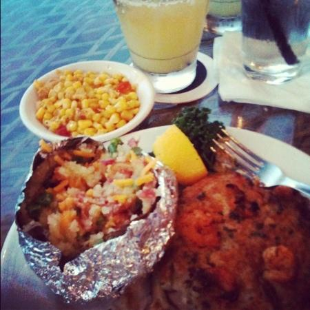River Front : baked stuffed tilapia