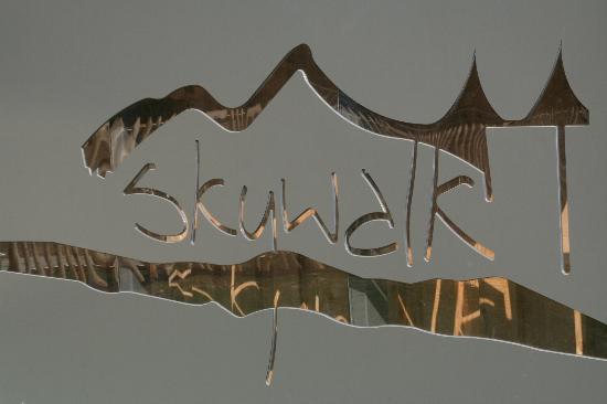 Skywalk Allgäu Naturerlebnispark: Eingangsschild