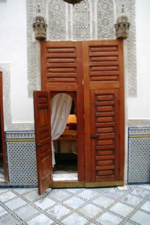 Dar El Menia : looking into the bedroom
