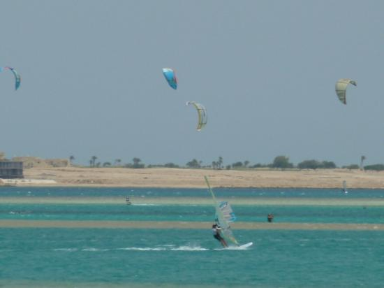 Sentido Palm Royale Soma Bay: Kite boarders