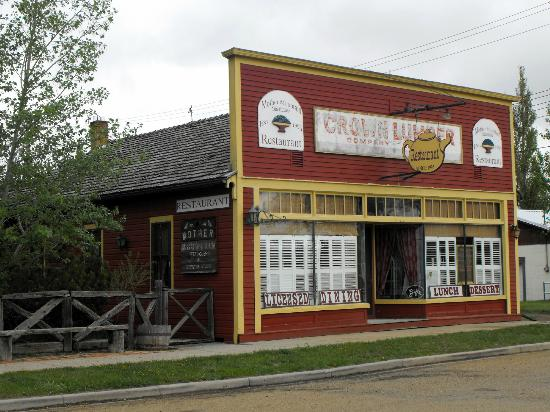 Delia, Canada : The restaurant -- it is in an old lumber store.  Oodles of character.