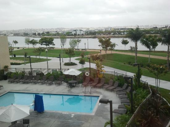 Homewood Suites by Hilton San Diego Airport - Liberty Station: Looking towards the airport