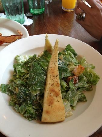 Busboys and Poets: CEASER SALAD!