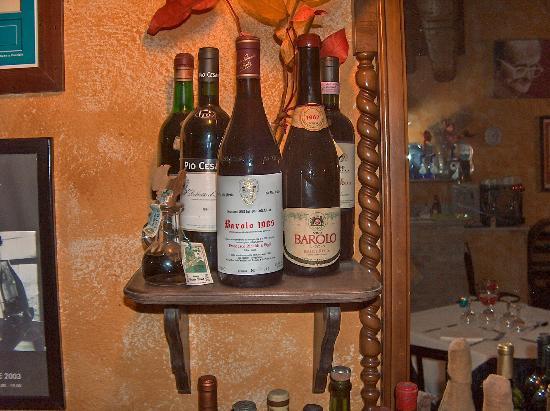 Arco dei Nobili: bottiglie d'annata