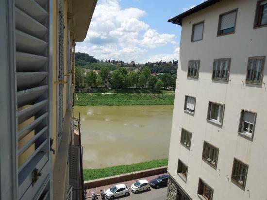 Casa del Lago: Side view to the river