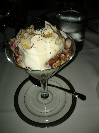 The Chef's Bistro : Chef's Bistro's - Berry Filled Bread Pudding Desert Special