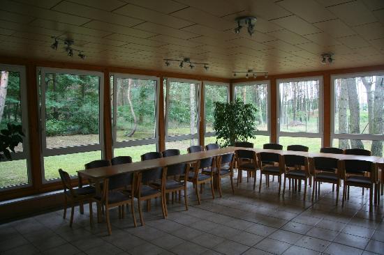 """Touristenstation Ferchland """"Haus Kiefernblick"""": Room where wedding reception was held"""