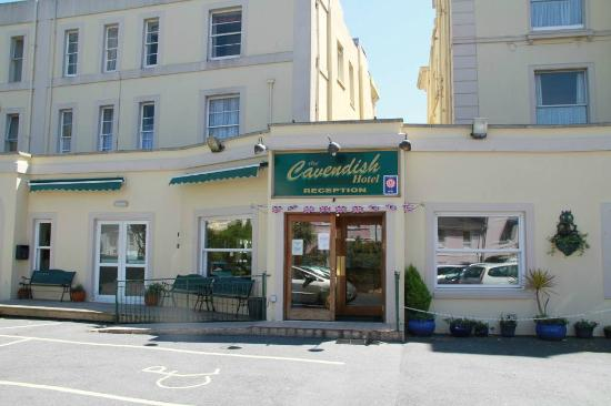 Hotel Entrance Picture Of Cavendish Hotel Torquay