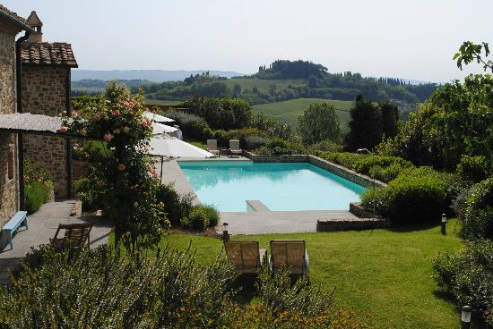 Guardastelle : View of the swimming pool