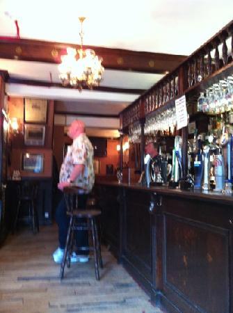 Royal Exchange: Ronny på pub