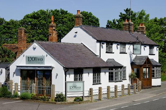 Wheathampstead, UK: L'Olivo Restaurant, Wheathampsted
