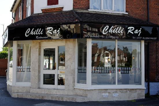 Chilli Raj Restaurant, St.Albans