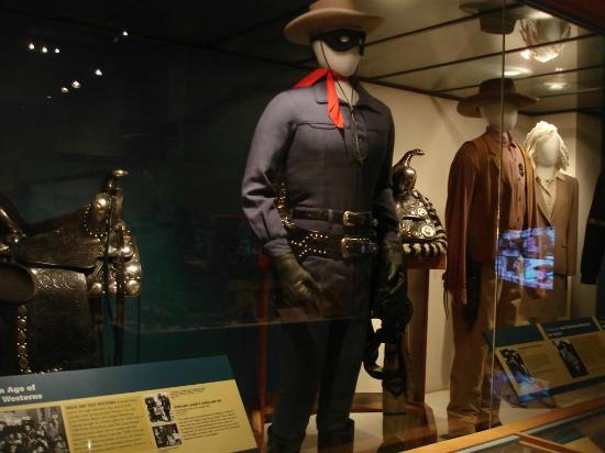 Autry Museum of the American West: Lone Ranger costume, saddle, gun