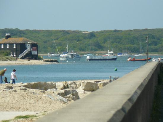Sandhills Holiday Park - Park Holidays UK: Picture of Mudeford Quay where you can go crabbing