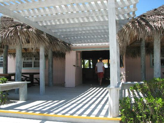 Pascal's at Cape Eleuthera: on the way inside