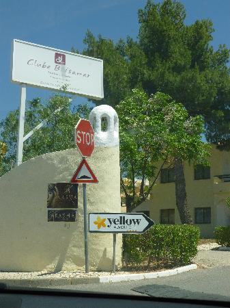 Luna Clube Brisamar: Entrada al Hotel