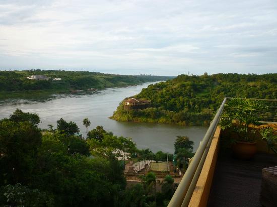 Amerian Portal del Iguazu: Vista desde la terraza donde está el Spa