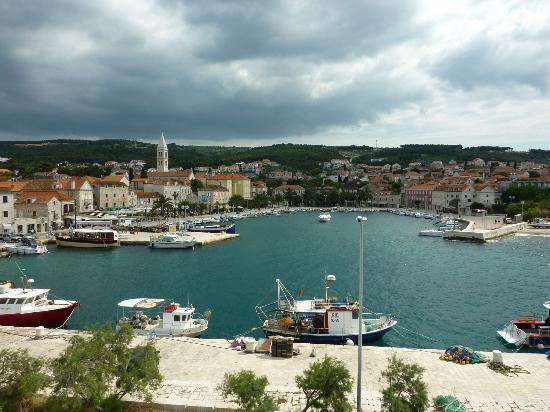 Hotel Villa Adriatica: Supetar harbour