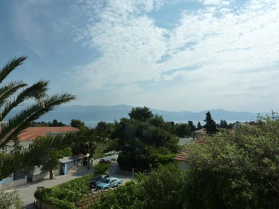Hotel Villa Adriatica: View from our room