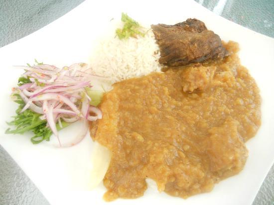 El Tule Authentic Mexican & Peruvian Restaurant: Carapulcra ( Peruvian Stew)