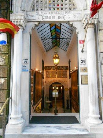 Cagaloglu Baths: Entrance