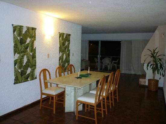 Baie des Anges Apart Hotel: Comedor