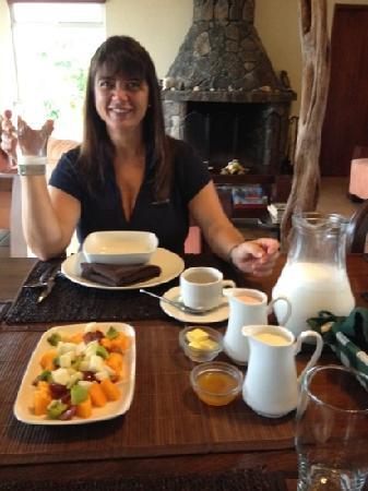 Semilla Verde Boutique Hotel: muy sabroso desayuno