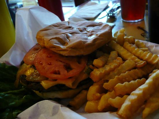 Branson Cafe: Jalapeno Burger and Fries