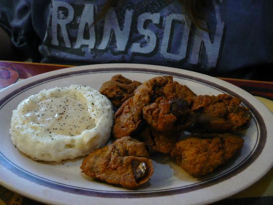 Branson Cafe: Chicken Liver Dinner