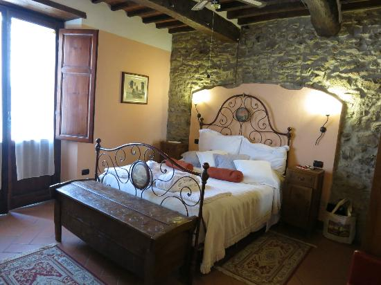 Rugapiana Vacanze: Our third floor bedroom