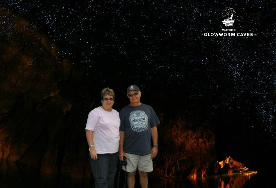 Waitomo Glowworm Caves: Another view of the GlowWorm Cave