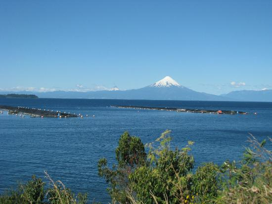 Lago Llanquihue: Lake and vulcan