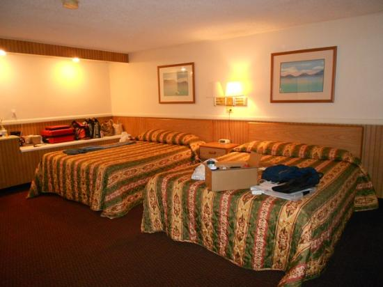 El Camino Motel: Nice big rooms