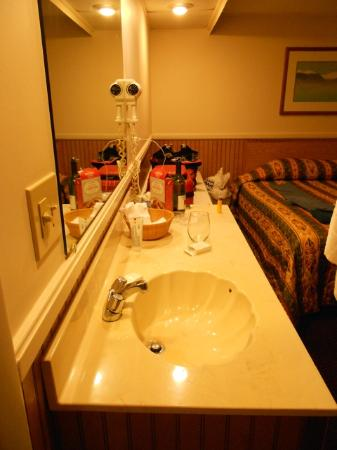 El Camino Motel: Sink outside the bathroom which was nice