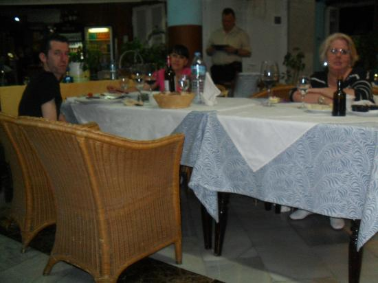 Colon Beach: disfrutando de una gran cena