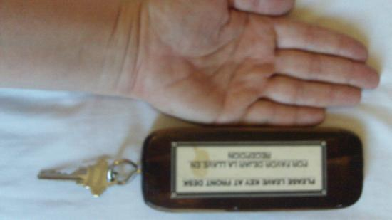Casa Morazan: Size of the Key Ring
