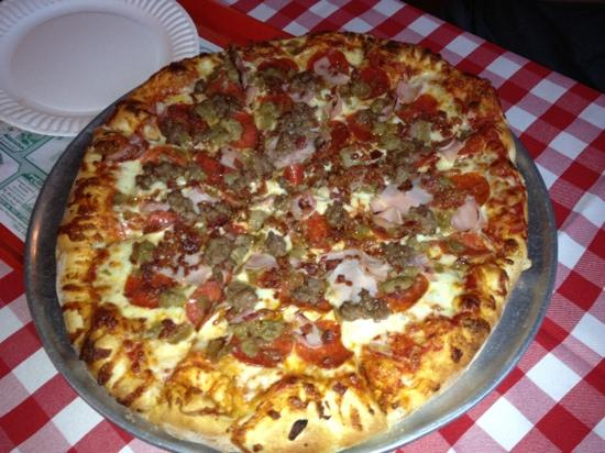 Angelina's Restaurant: Meat Lovers Pizza